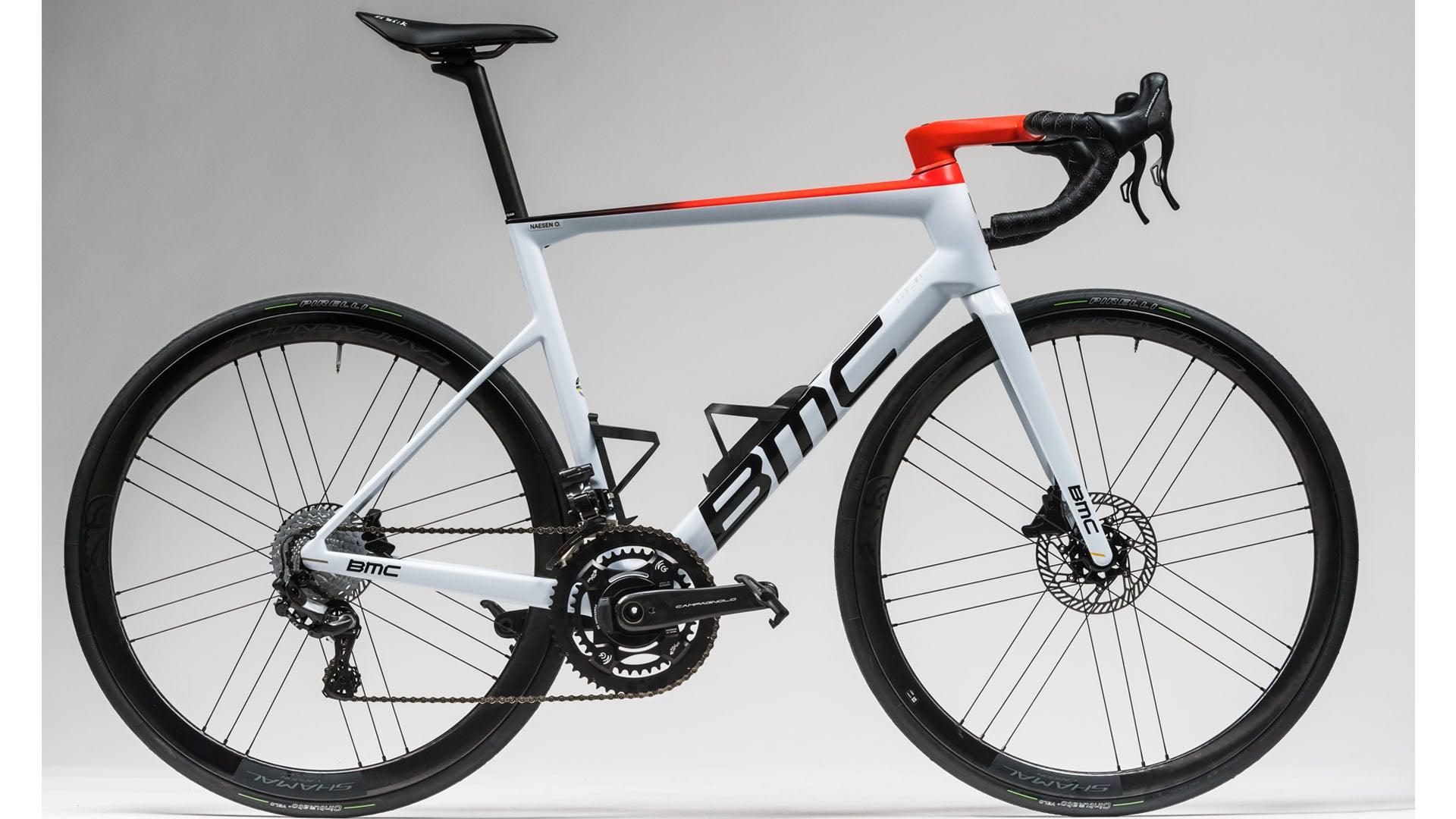 De BMC Teammachine SLR01 van Alexis Gougeard