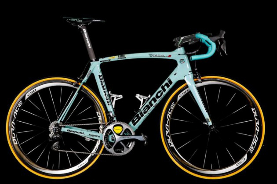 De Bianchi van Barry Markus van Team Lotto NL Jumbo 2015